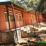 bungalovi od 1 do 8 (po 2 imata skupne sanitarije)